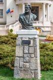 Statua di Dimitrie Ghica - busto Fotografia Stock