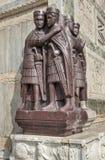 Statua di Diocleziano a Venezia Fotografia Stock Libera da Diritti