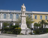 Statua di Dionysus Solomon Immagini Stock