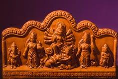 Statua di Durga Fotografie Stock