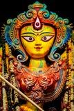 Statua di Durga della dea Fotografie Stock Libere da Diritti