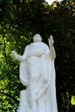 Statua di Euripide nel parco Sofiyivka fotografia stock libera da diritti