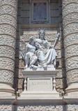 Statua di Europa. Museo di storia naturale a Vienna Immagini Stock Libere da Diritti