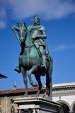 Statua di Ferdinand 1, Firenze fotografia stock libera da diritti