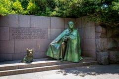 Statua di Franklin D Roosevelt Fotografia Stock