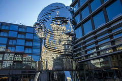 Statua di Franz Kafka Fotografia Stock Libera da Diritti