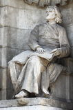 Statua di Franz Liszt fotografia stock libera da diritti