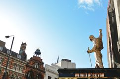 Statua di Freddie Mercury Fotografia Stock
