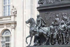Statua di Frederick le grande Fotografia Stock
