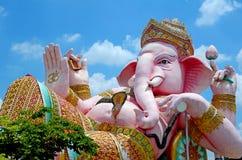 Statua di Ganesha il dio molto santo di Hinduismo fotografia stock