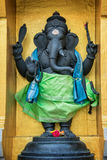 Statua di Ganesha in tempio di Sri Veeramakaliamman, Singapore Fotografie Stock Libere da Diritti