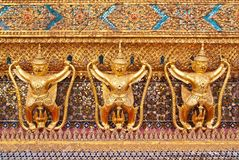 Statua di Garuda in Wat Phra Kaew Fotografia Stock