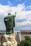 Statua di Gellert Fotografie Stock Libere da Diritti