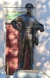 Statua di generale Douglas MacArthur in Norfolk, la Virginia Fotografia Stock