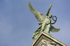 Statua di George-Etienne Cartier Fotografie Stock Libere da Diritti