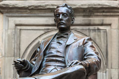 Statua di Giacomo Puccini Fotografie Stock Libere da Diritti