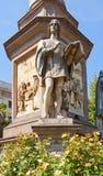 Statua di Gian Giacomo Caprotti da Oreno (Andrea Salai). Milano, Immagini Stock Libere da Diritti