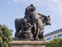 Statua di Girona Fotografia Stock
