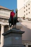 Statua di Giuseppe Garibaldi Fotografie Stock Libere da Diritti
