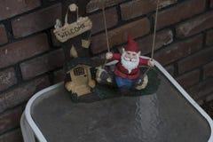Statua di Gnome Fotografie Stock