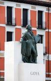 Statua di Goya Fotografie Stock Libere da Diritti