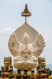 Statua di Guan-im Bhodisatva Fotografia Stock Libera da Diritti
