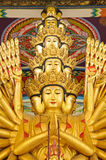 statua di Guan Yin della Mille-mano Immagini Stock