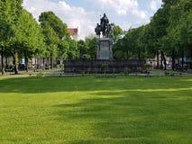 Statua di Herzogheinrich Fotografia Stock