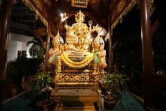 Statua di Hinduismo o phrom di phra in Tailandia Fotografie Stock Libere da Diritti