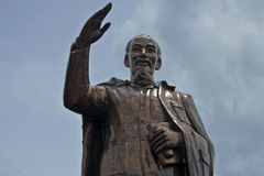 Statua di Ho Chi Minh Fotografie Stock