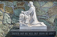 Statua di Jesus fotografia stock libera da diritti