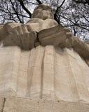 Statua di John Clavin Fotografia Stock