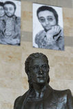 Statua di John Lennon Fotografia Stock