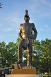 Statua di John By nel parco principale della collina del ` s, Ottawa Fotografia Stock