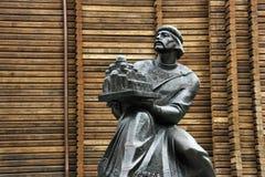 Statua di Kiev fotografia stock