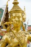Statua di Kinnari in grande palazzo, Bangkok Immagini Stock
