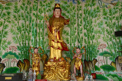 Statua di Kuan Yin Fotografie Stock Libere da Diritti