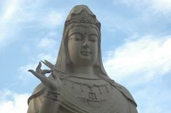 Statua di Kuan-yin fotografia stock libera da diritti