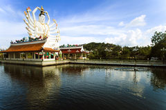 Statua di Kuan Yin sulla Tailandia Fotografia Stock Libera da Diritti