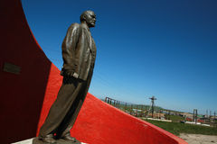 Statua di Lenin. Fotografia Stock
