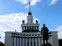 Statua di Lenin Fotografie Stock Libere da Diritti