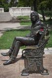 Statua di Lennon in Parque Lennon fotografie stock