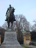 Statua di Leopold II Immagini Stock Libere da Diritti