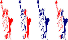 Statua di libertà illustrazione vettoriale