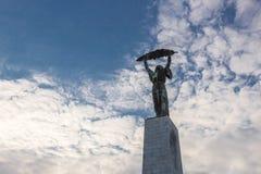 Statua di libertà, Budapest Immagine Stock