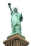 Statua di libertà isolata Fotografia Stock Libera da Diritti