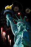 Statua di libertà a New York Fotografia Stock
