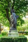 Statua di libertà a Parigi Immagini Stock