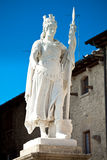 Statua di libertà, San Marino immagini stock