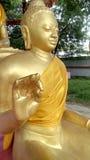 Statua di Lord Buddha a sarnath Fotografia Stock Libera da Diritti